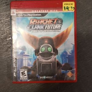 🌺 3 for $25. Ratchet clank future game